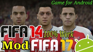 FIFA14 Mod FIFA 17 Game For Android | Download Game Deskripsi