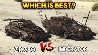 GTA 5 ONLINE : ZR 380 VS IMPERATOR (WHICH IS BEST?) [ARENA WAR DLC]