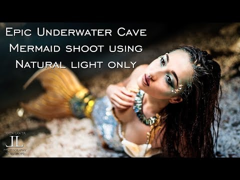 EPIC Underwater Mermaid Shoot in Oahu, Hawaii at Mermaid Caves Sony A7Riii