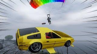 GTA ONLINE: ZOANDO COM O CARRO VOADOR C/ Mike Cafeinado Tayr Davidorp