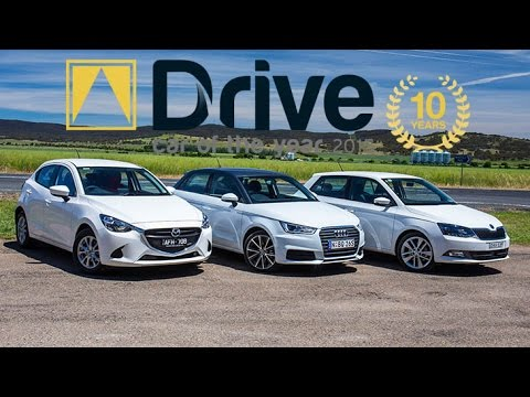 Mazda2 Maxx v Skoda Fabia v Audi A1   2015 Drive Car of the Year