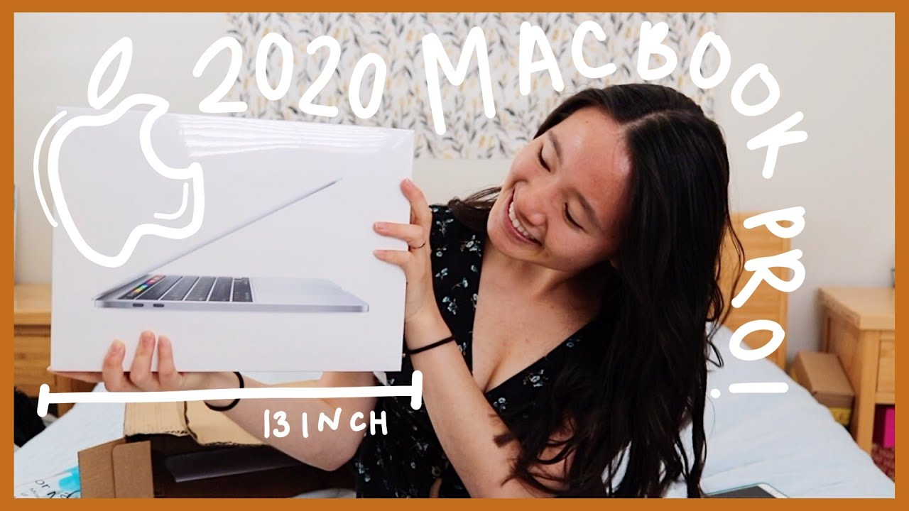 Unboxing The 2020 New Macbook Pro 13 Inch! - YouTube