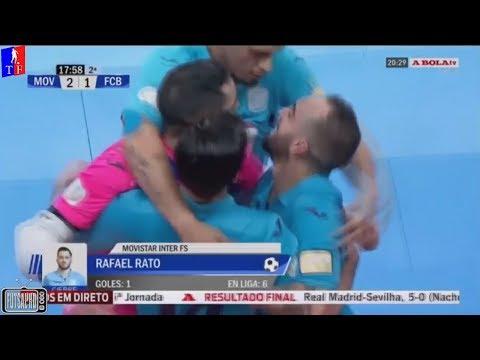 Melhores Momentos Inter/Movistar 4 x 1 Barcelona - 14ª Rodada Liga Espanhola de Futsal 2017/2018