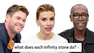 Avengers: Endgame Cast Answer 50 of the Most Googled Marvel Questions | WIRED