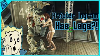 Fallout 4 Procter Ingram has legs How to Remove Her Power Armor and Keep it PC