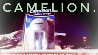 Camelion Compact Battery charger review
