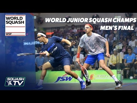 Tarek v Asal - WSF World Junior Squash Champs 2018 Men\'s Final