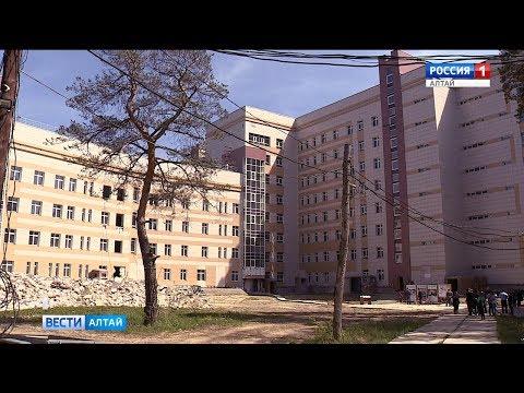 Краевой противотуберкулезный диспансер в Новоалтайске достроят к 2021 году