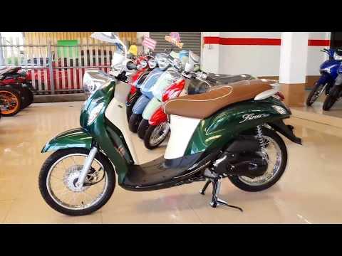 Yamaha Fino 125 2020 Standard Green