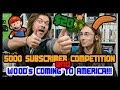 5000 Subscriber Competition & American Tour Details!