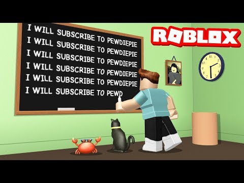 ESCAPE FROM DETENTION OBBY IN ROBLOX