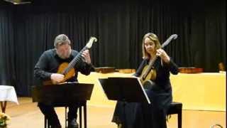 F. Carulli: Serenade A-Dur opus 96 - Duo Christiane Anderle und Olaf Van Gonnissen