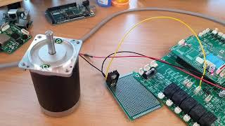 DC모터 속도제어 / 제어기 개발 / 테스트 / DC …
