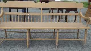 Vwa Ep. 4 Queen Anne Table & Shaker Bench