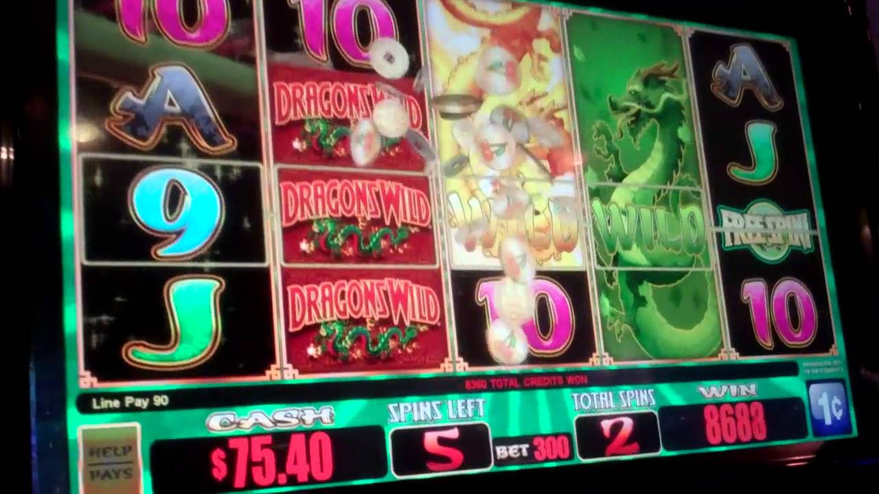 Dragon Slot Machine Big Win