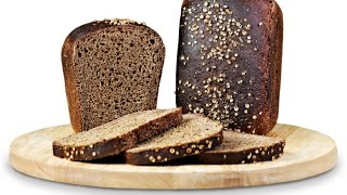 Ржаной хлеб с солодом или Бородинский хлеб - Rye bread with malt or molasses bread