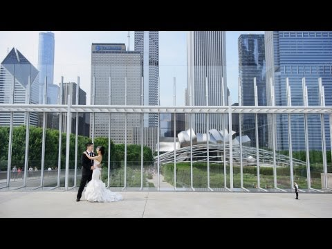 Chicago JW Marriott + Art Institute Modern Wing Wedding Photos! Susan + Dennis!