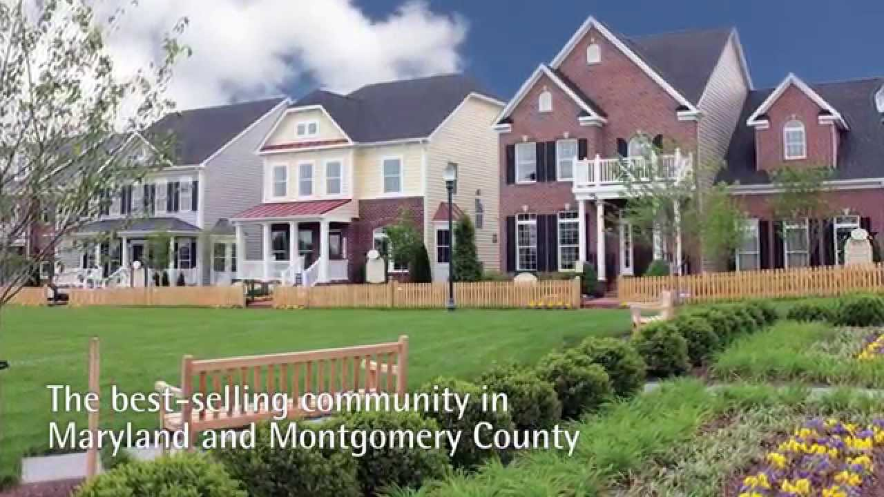 Ryan homes new homes at clarksburg village in clarksburg House builders in maryland