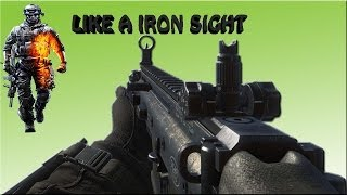 DroidGamer Like Iron Sigh #2 Scar-H BF4
