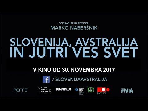 Slovenija, Avstralija in jutri ves svet - v kinu od 30.11.2017