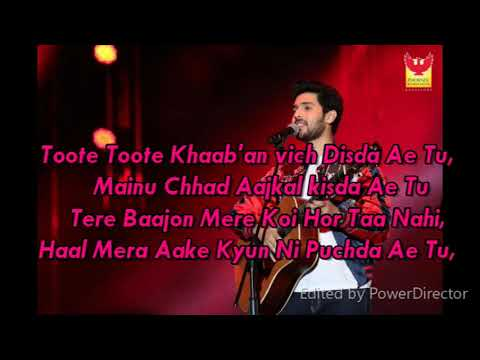 Ek cheez channa (Armaan Malik /Kunaal Verma/Songster/Lyrics video)