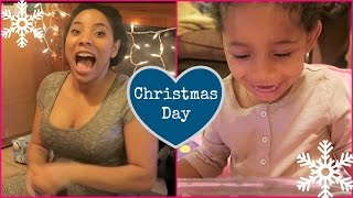 opening christmas presents last day of vlogmas