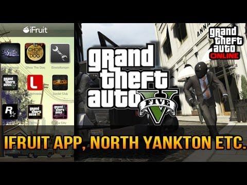 GTA V & GTA Online News - iFruit App, Heists, 500.000 $ und North Yankton DLC !
