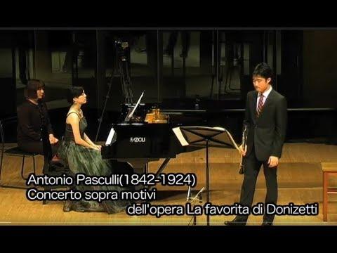 A. Pascoli : Concerto sopra motivi dell'opera La favorita di Donizetti