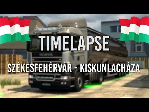 Euro Truck Simulator 2 Timelapse Hungary Map | Toast 🚚