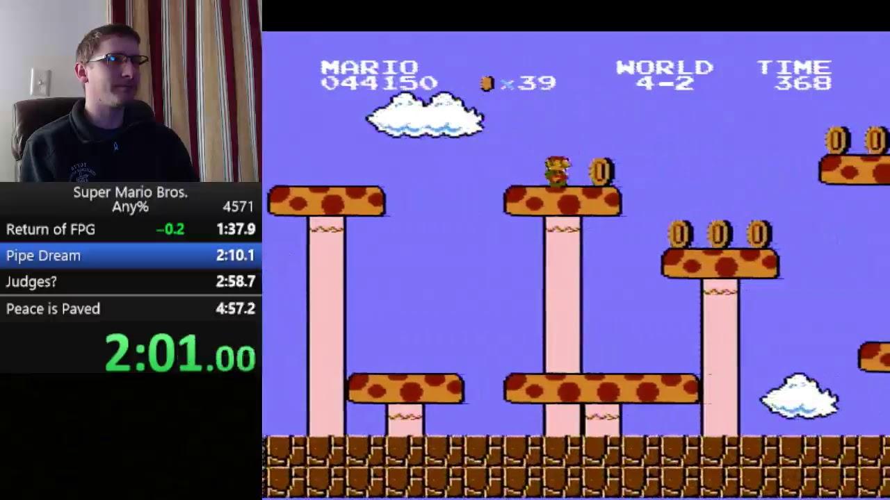 Super Mario Bros. Speedrun - 4:56.99 - Super Mario Bros. Speedrun - 4:56.99