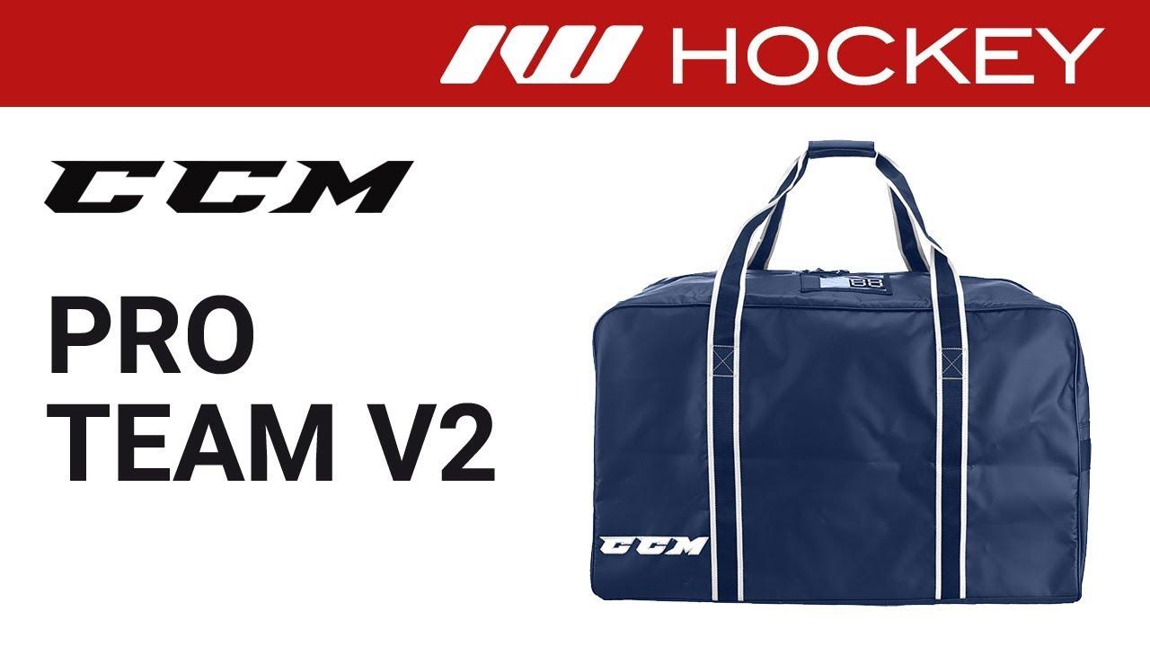 f69d7544ecd CCM Pro Team V2 Hockey Bag Review - YouTube