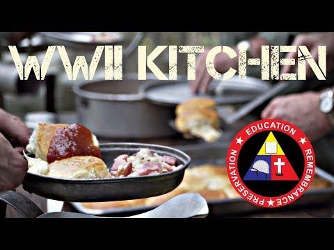WWII Field Kitchen Overview