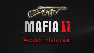 Mafia II: All Weapons Shown