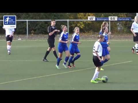 B-Juniorinnen - SV Böblingen vs. Karlsruher SC
