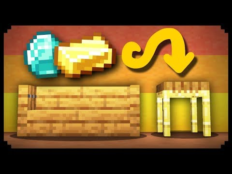 ✔ Minecraft: How To Make A Secret Table Room