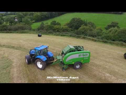 Silage 2016- baling- drone