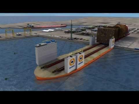 """Dockwise Super Vessel """"Type 0"""""""