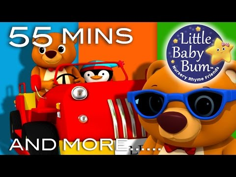 The Bear Went Over The Mountain | Plus Lots More Nursery Rhymes | 54 Minutes from LittleBabyBum!