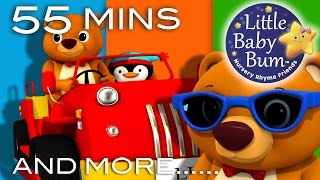 The Bear Went Over The Mountain | And More Nursery Rhymes | From LittleBabyBum