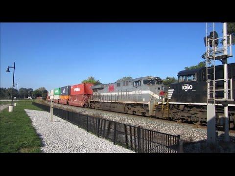 700 SUBS!! Morning Railfanning In Fostoria, Ohio Featuring NS 8025.