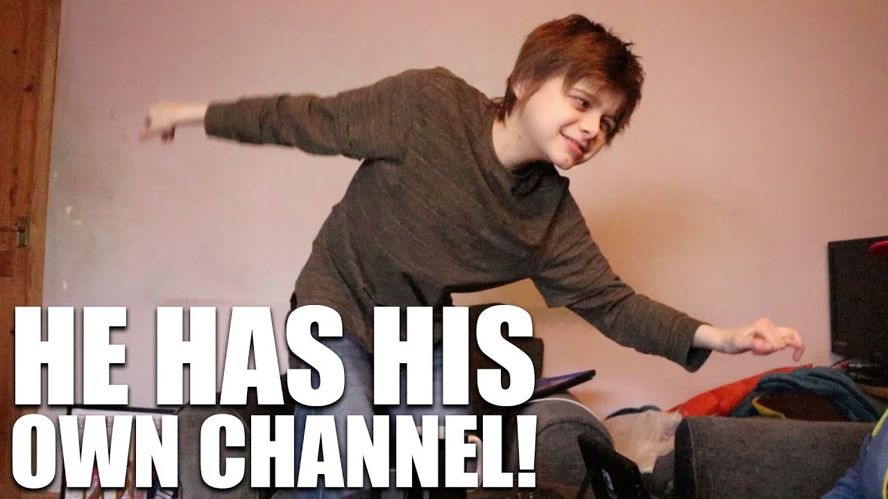 Andy Has His Own Autism Awareness Channel
