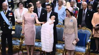 Swedish Royal Christening of HRH Princess Estelle of Sweden