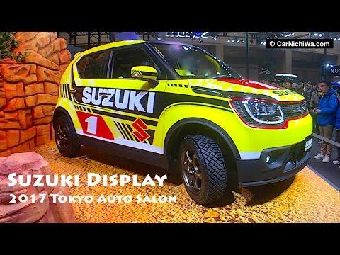 Suzuki Display | 2017 Tokyo Auto Salon | CarNichiWa.com