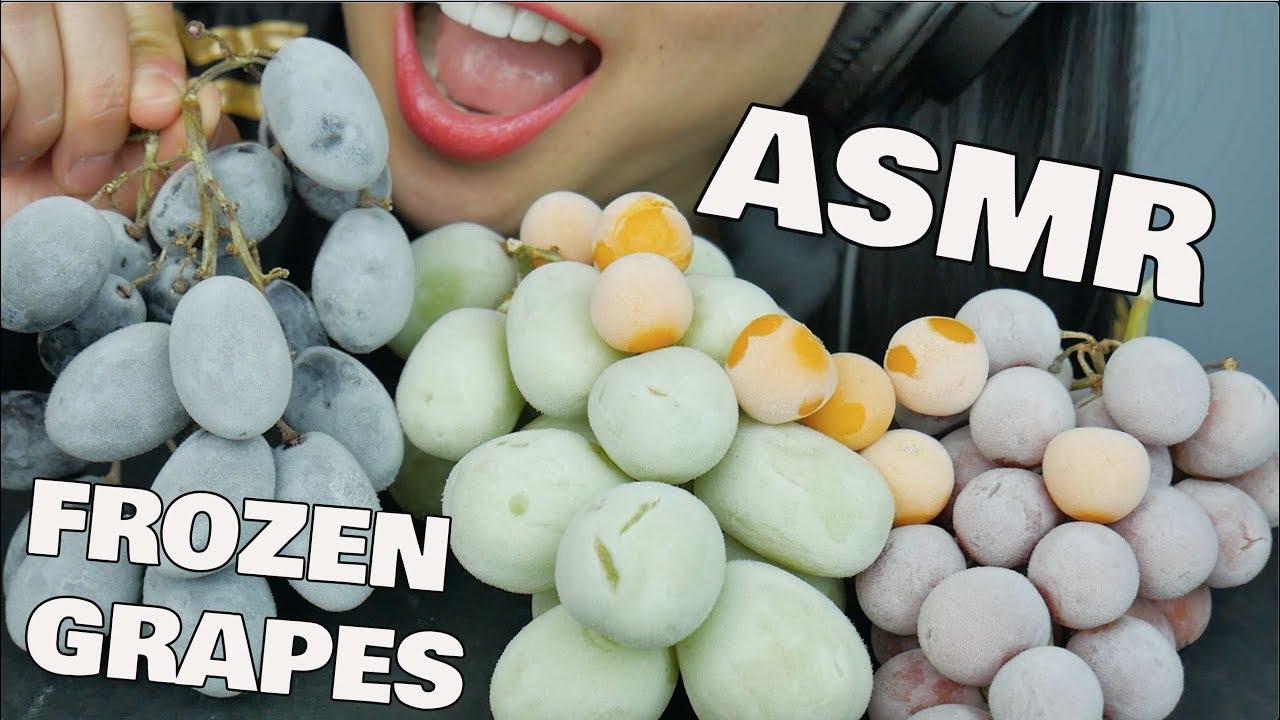 Asmr Frozen Grapes Eating Sounds No Talking Sas Asmr Youtube Asmr (autonomous sensory meridian response) is a euphoric experience identified by a tingling sensation that triggers positive feelings, relaxation and focus. asmr frozen grapes eating sounds no talking sas asmr