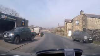 Arriving at Hawes