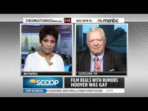 J. Edgar movie  Hoover portrayed as gay.