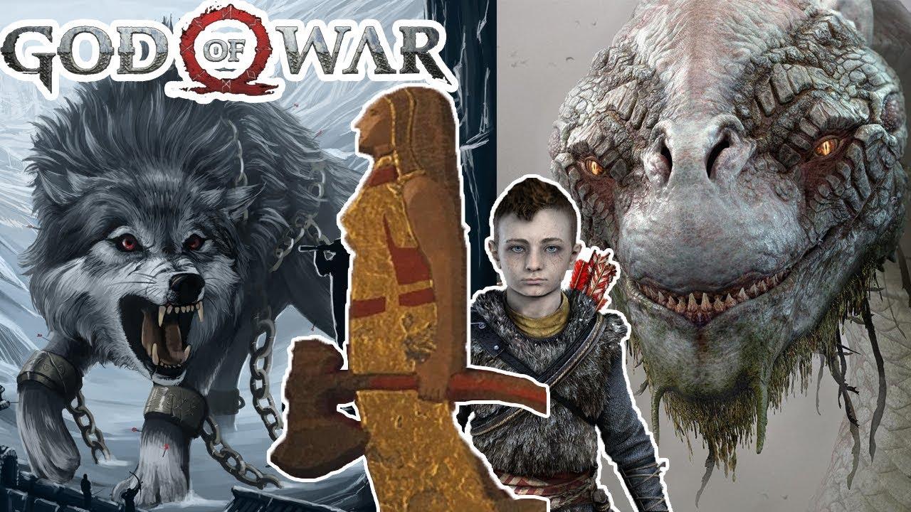 God of war faye esposa de kratos su historia los jotun - God of war jormungandr ...