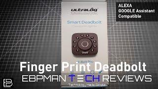 Is this Fingerprint Smart Door Deadbolt Fast?  Oh Yeah! | U-Bolt Pro