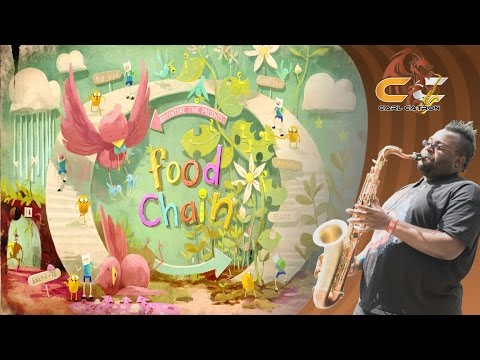 Food Chain - Adventure Time(Finn The Human & Princess Bubblegum) | Sax Dragon Remix