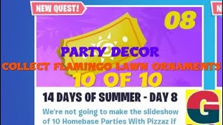 FORTNITE STW/ 14 DAYS OF SUMMER - PARTY DECOR.